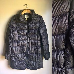 Forever 21 Puffy Jacket Medium Black